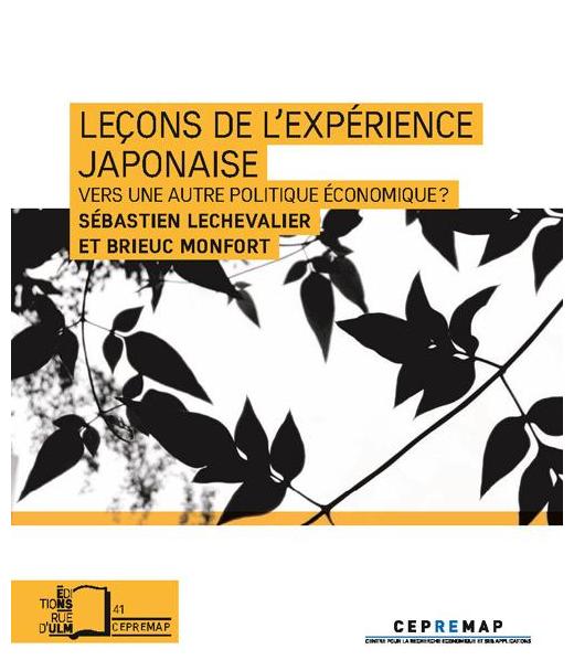 Leçons de l'expérience japonaise: Vers une autre politique économique?