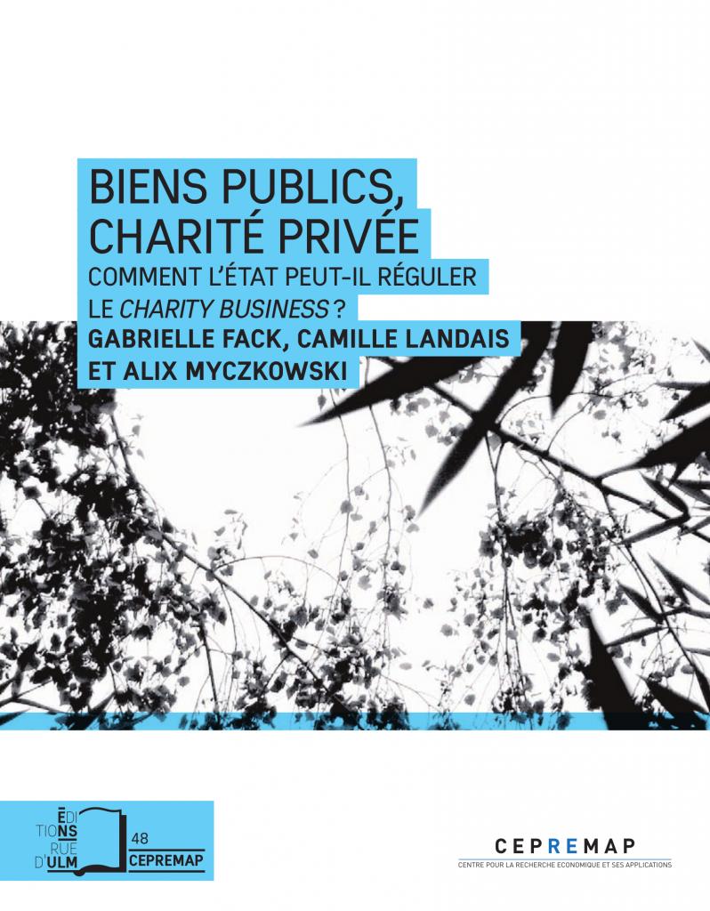 Bien publics, charité privée