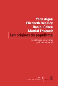 Couverture de l'ouvrage Les origines du populisme