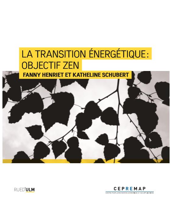 La transition énergétique: objectif zen